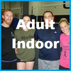 Adult Indoor Charlotte Volleyball