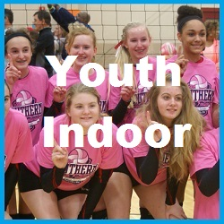 Youth Indoor Charlotte Volleyball